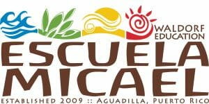 Logo Escuela Micael Waldorf Education